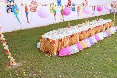 Ideas para baby shower temático de Hawaii Ve más ideas interesantes en IDEASdeEVENTOS.com