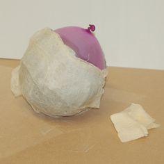 HOME DZINE Craft Ideas | Make decorative concrete spheres