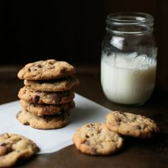 Between browned butter, Heath baking bits, chocolate chips, and Kosher salt, these cookies are the perfect salty-sweet combination.