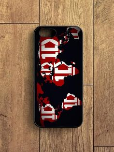 1d World Map iPhone 5|S Case