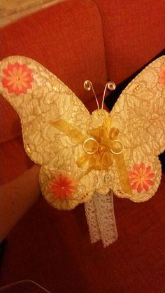 Mariposa alianzas. Mi boda
