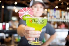 M Shack is also known for its signature drinks/shakes! #Jacksonville #nocatee