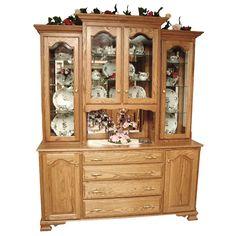 Amish Valencia Hutch | Amish Furniture | Shipshewana Furniture Co.