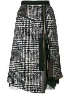 Купить Kolor многослойная юбка на молнии сбоку.