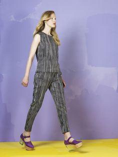 Plyymi top and Patriisi trousers / Marimekko S/S 14 #Marimekko #MarimekkoSS14 #MarimekkoSpring