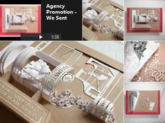 """Intricately Crafted #Paper #Advertising Briefs #Inspired By South African Job Bags  """"Transforming client briefs into delicate paper sculptures and design pieces to show brands the amazing things their design team can do with their briefs."""""""