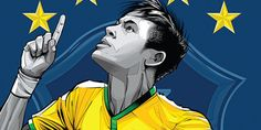 These World Cup Posters Are A Must-See For Any Soccer Super Fan - Brazil.