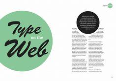 Editorial Design Spread (Good Galleries)