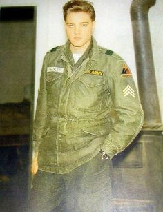 Sergeant Presley, Germany, February/ March 1960  - Elvis got his last promotion to Sergeant on February 11, 1960, just three weeks before he received his discharge from the Army.