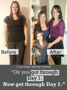Paleo before and after story