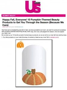 Well hello pumpkin! These look brilliant on your nails when your hands are wrapped around that PSL! www.diggingthenails.com