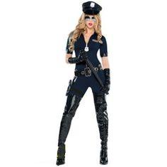 Cops: Female Stop Traffic Adult Costume