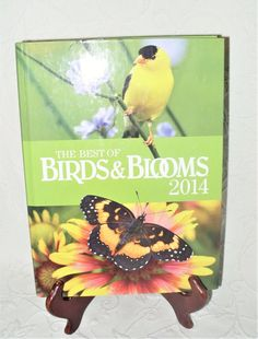 The Best of Birds & Blooms 2014 Hardcover (Birds & Blooms Books) Illustrated New