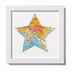 use for a going away party present and have all the guests sign the map