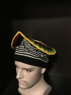 Cameroonian Hat/Beret/Tam Ashetu style by MonBoChapoHat on Etsy