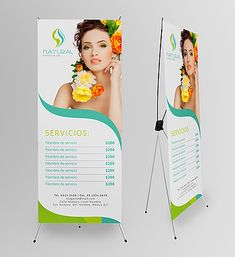 mẫu standee spa 7 Pull Up Banner Design, Roll Up Design, Web Banner Design, Spa Day At Home, Home Spa, Spa Design, Party Banners, Nail Spa, Beauty Bar