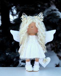 Куколка в наличие  #куклыольгипономаревой #куклыручнойработы #littledolls