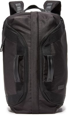 Look at it!! It's a duffel bag for your back!! I freaking love it.