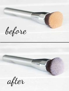 When is the last time you cleaned your makeup brushes? Keeping them clean helps your makeup last longer - so make this makeup brush cleaner & clean them up.