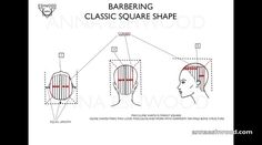 CLASSIC BARBERING by Anna Eshwood. anna eshwood showing the way how to cut barbering short haircut with precision, you can learn  fundamental square classic shape and how to cut hair professionally on annaeshwood.com