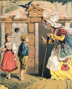 Gorgeous Grimm: 130 Years of Brothers Grimm Visual Legacy – Brain Pickings Brothers Grimm Fairy Tales, Grimm Tales, Gebrüder Grimm, Old Illustrations, Children's Book Illustration, Fairy Tale Crafts, Hansel Y Gretel, Fable, Fairytale Art