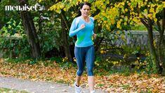 Sinäkin jaksat juosta! Seuraa neljän viikon juoksukoulua, niin kuukauden päästä pingot jo viisi kilometriä. Opi, Capri Pants, Mens Sunglasses, Sporty, Exercise, Running, Fitness, Beauty, Women