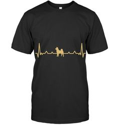 Husky Heartbeat Line Gold T Shirt Husky Guy, Heartbeat Line, Gold T Shirts, Mens Tops, Style, Swag, Outfits
