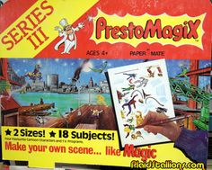 Plaid Stallions : Rambling and Reflections on '70s pop culture: Presto Magix Store Display