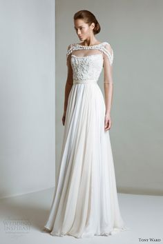 tony ward bridal 2014 couture elizabeth wedding dress