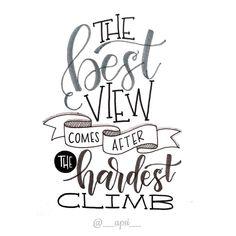 Just keep climbing