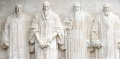 Image result for Statues of John Calvin Knox and others