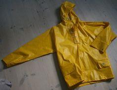 Helly Hansen from Norway – Helly Hansen Nusfjord rainwear raincoat Yellow Raincoat, Rain Gear, Helly Hansen, Vintage Yellow, Smocking, Norway, Work Wear, Dressing, Retro