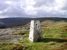 The trig point on Bowland Knotts, one of my favourite places in the Forest of Bowland.