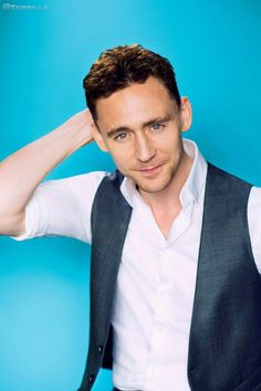 Tom Hiddleston photographed by Denise Truscello at the 2013 D23 Expo. Via Twitter.