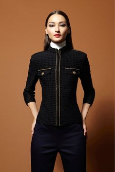 ALANA ZIMMER AND CAROLA REMER FOR ST.JOHN PRE-FALL 2013
