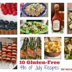 10 Easy Gluten-Free Recipes for 4th of July – Ten on Tuesday
