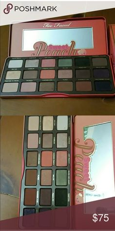 Too Faced Sweet Peach Palette... Too Faced Sweet Peach Palette...Used once Too Faced Makeup Eyeshadow