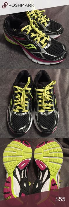 ✨Saucony Glide 7 Athletic Shoes Worn a only a couple times to work out in the house. Never been worn outside the house. Just did not like the way they fit my feet. Beautiful colors! Saucony Shoes Athletic Shoes