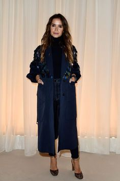 Miroslava Duma Photos - Lanvin : Front Row - Paris Fashion Week Womenswear Fall/Winter 2016/2017 - March 6 2016