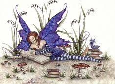 Beautiful Fantasy Art, Beautiful Fairies, Amy Brown Fairies, Dark Fairies, Fantasy Dragon, Elves Fantasy, Geniale Tattoos, Fairy Pictures, Fairytale Art