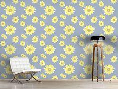Design #Tapete Sonnenblumen Erwachen