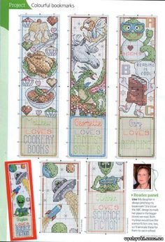 Gallery.ru / Photo # 2 - bookmarks, and that they may be - irisha-ira