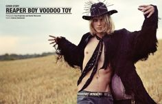 Tomek is a Reaper Boy, Voodoo Toy in Geil Magazine