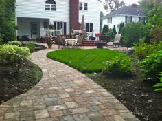 Patios Rochester NY, Brick and Paver Patio,  Walkway Design, Installation, Rochester NY, Patio Repair, Patio Replace, In Rochester New York by Acorn Ponds & Waterfalls, Certified Aquascape Contractor. To learn more about this Landscape Design Project, please click here: https://www.facebook.com/notes/acorn-landscaping-landscape-designlightingbackyard-water-gardens/landscape-design-installation-walkway-patio-rock-fountain-waterfall-in-penfield-/238744206162709