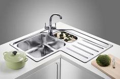Blanco Median Sink : ... on Pinterest Corner sink, Corner kitchen sinks and Corner sink unit