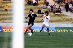 Scotland 1 Iran 1 in 1978 in Cordoba. Joe Jordan is clean through leading to a own goal by Andranik Eskandarian on 43 minutes in Group 4.