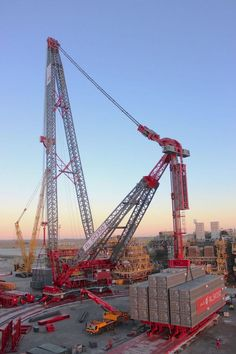 ALE Performs Load test of World's largest Capacity Land Based Crane