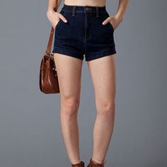 Dark Denim Shorts Super awesome high waist shorts from #cecillee Cecil Lee Shorts