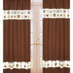 @Overstock - Create a stylish look with these Sweet JoJo Designs Window Panels. Pair with coordinating Sweet JoJo Designs to complete the look and feel of your room.  http://www.overstock.com/Home-Garden/Night-Owl-Window-84-inch-Curtain-Panel-Pair/7707546/product.html?CID=214117 $54.99