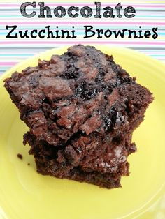 Chocolate Zucchini Brownies - The Frugal Navy Wife